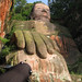 spidey and Giant Buddha :). Leshan, China 30AUG09