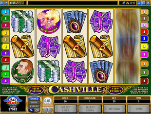 Cashville slot game online review