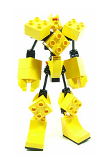 The Mighty Doop-Los 1/5 (optimus-convoy) Tags: robot lego super fusion mecha robo duplo