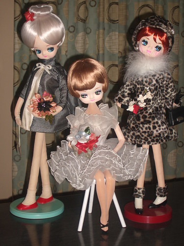 Vintage Japan Mod Pose Dolls par Gigi-Geisha