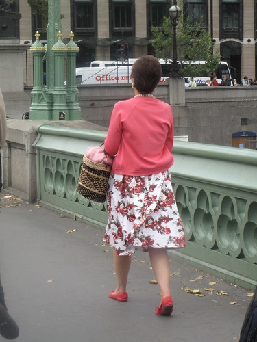 Lady on the streets