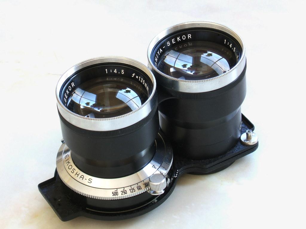 Mamiya Sekor 135mm Portrait Lens for TLR