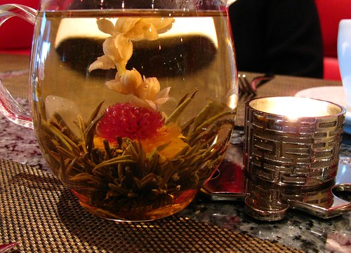 Flowering tea @ Vero