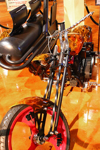 RUB BBQs custom bike, complete with grill, puts other bikes to shame!