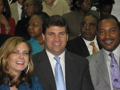 Lori Morris, Senator Peters and Senator Muse