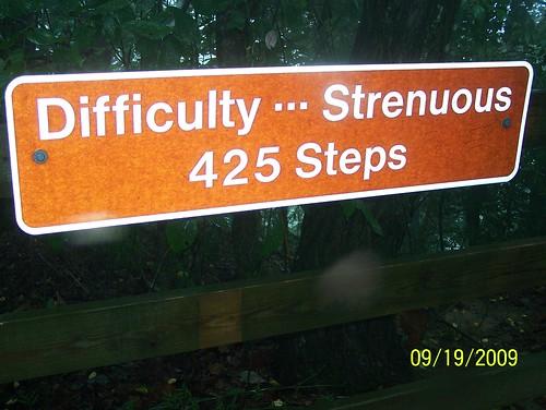 Strenuous Steps