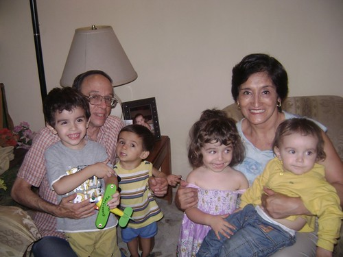 Joe-Joe, Juanita, and grandkids
