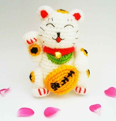 Maneki Neko Pattern by ~Karite-Kita-Neko on deviantART