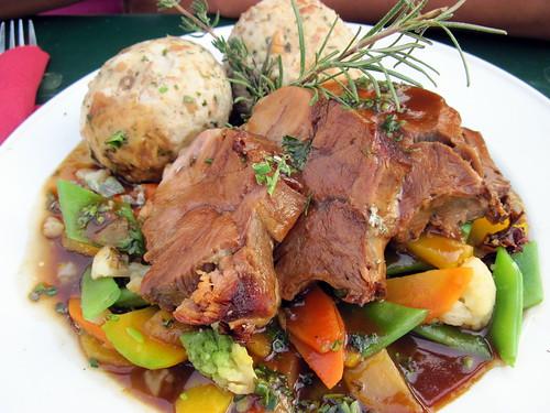 Veal Knuckle roast