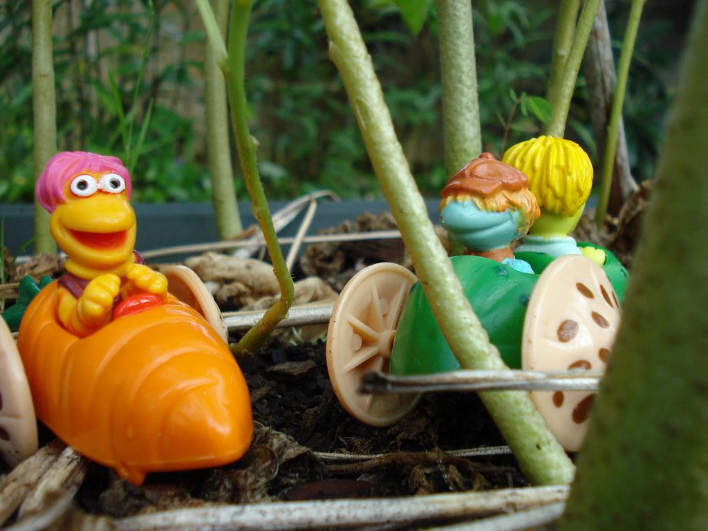 Mcdonalds Fraggle Toys