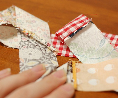 How to make a patchwork string 7