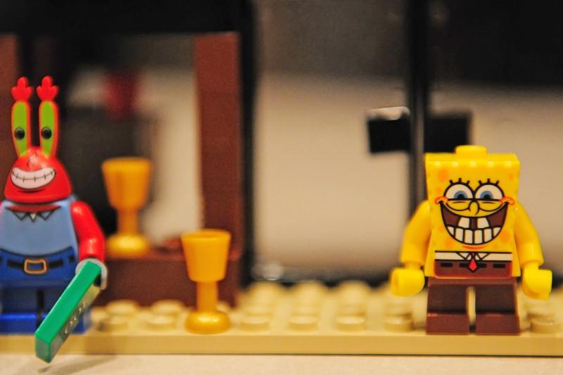 Sponge Bob Legos