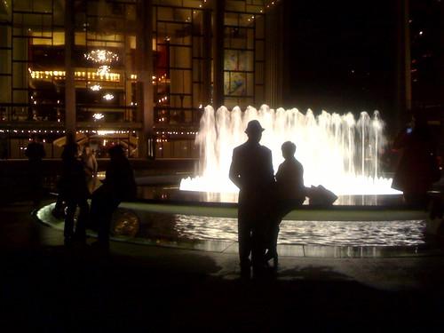 Lincoln Center fountain