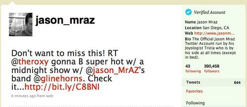 Jason Mraz (jason_mraz) on Twitter
