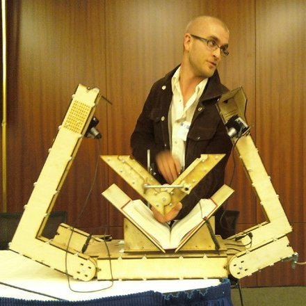 dan reetz & his diy book scanner