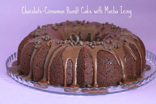 Chocolate-Cinnamon Bundt Cake with Mocha Icing - I Like Big Bundts