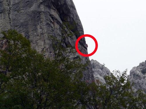 An der steilen Kante