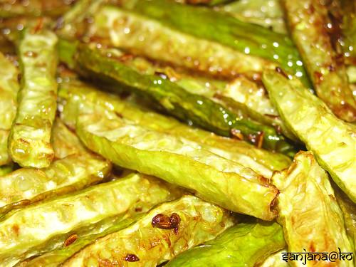 fried tindora