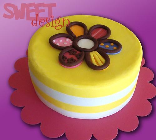 Britto Flower Cake
