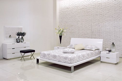 Lily White Modern Bedroom