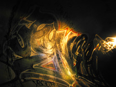 Enero (Rebirth Cycle) Tags: longexposure graffiti berkeley tunnel enero ase tfn