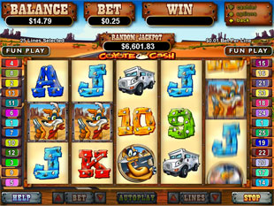 slot free play coyote cash