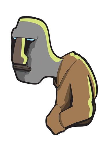 moai hoodie pal