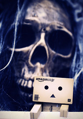Do me a favor..... (.Happy.C.) Tags: halloween toys nikon ghost dslr tamron   danbo 2875mmf28  danboard d300s