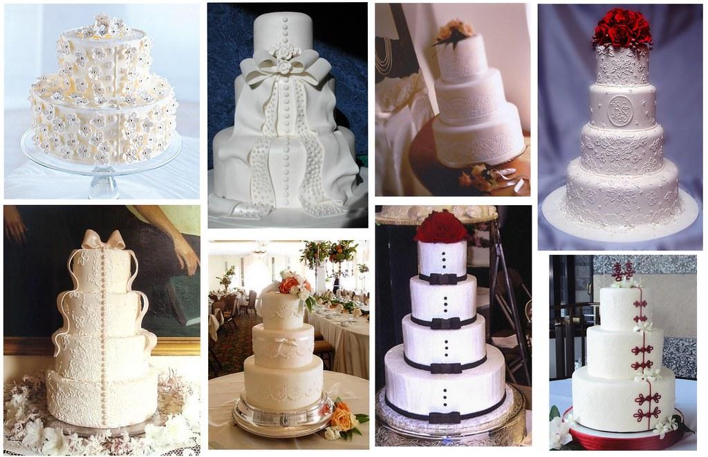 Romantik Düğün Pastaları 1