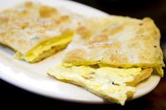 egg scallion pancake thing