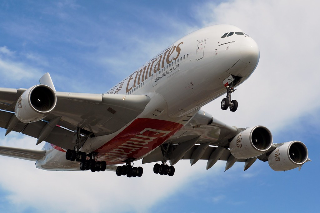 Emirates A380 by BriYYZ, on Flickr