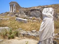 Sassy Statue at Delos Ruins