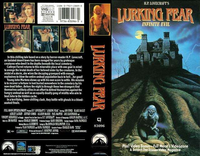 Lurking Fear (VHS Box Art)