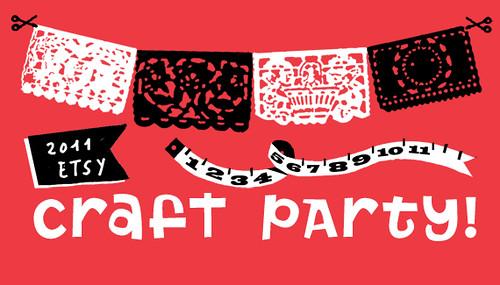 Etsy I Heart Art Portland Craft Party!