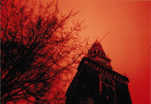 Amsterdam in redscale