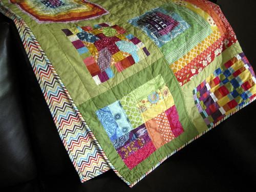 Rainbow Craze Quilt