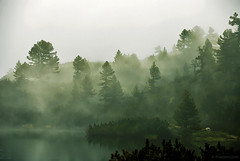 Mystic morning at the Pirin lakes (.:: Maya ::.) Tags: mountain lake nature landscape bulgaria mystic   pirin     mayaeye mayakarkalicheva     wwwmayaeyecom