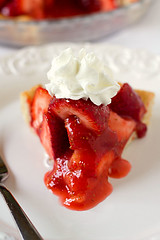 A slice of Strawberry Pie (Brown Eyed Baker) Tags: food pie recipe strawberries strawberrypie
