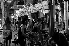 Μήνυμα από τους αγανακτισμένους της Ισπανίας.