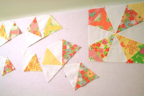 kaleidoscope quilt block