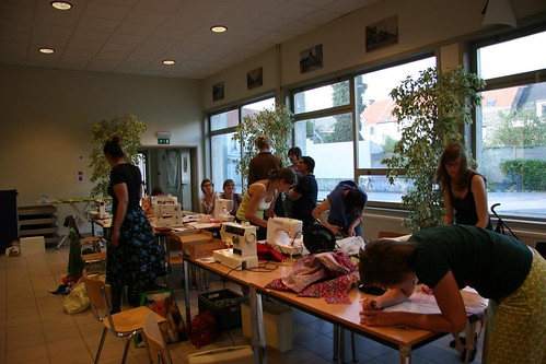 Jverige Wijven XIII / Workshop 'Start to sew' - 15 juni 2011