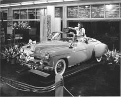 auto chevrolet car washington display south convertible motors showroom tacoma 1949