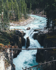 Glacial blue water (Adam Klekotka) Tags: glacial river stream water glacier athabasca banff jasper alberta britishcolumbia canada blue icefield landscape nature view waterfall cold travel adventure