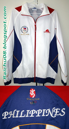 Accel 2008 Beijing Olympics Philippine Team Jacket