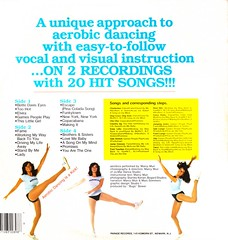 aerobics record back