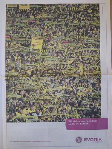 """Evonik-Werbung: """"Wir stehen hinter dem BVB. Genau wie Schalke."""""""