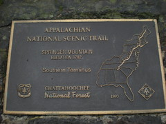 10 - AT Southern Terminus Plaque
