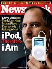 Newsweek cover with Steve Jobs