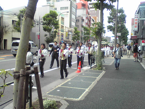 Brass band from Waseda High School again
