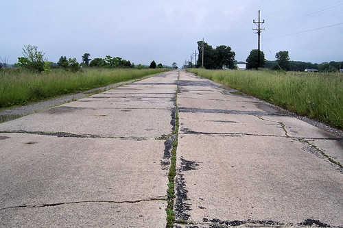 Old US 50 in Illinois
